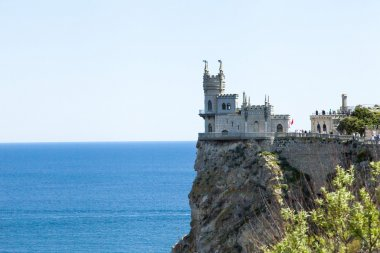 The castle by the sea