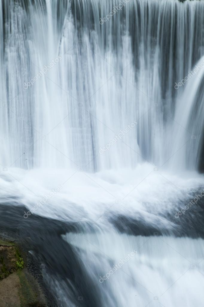 Falls on the river