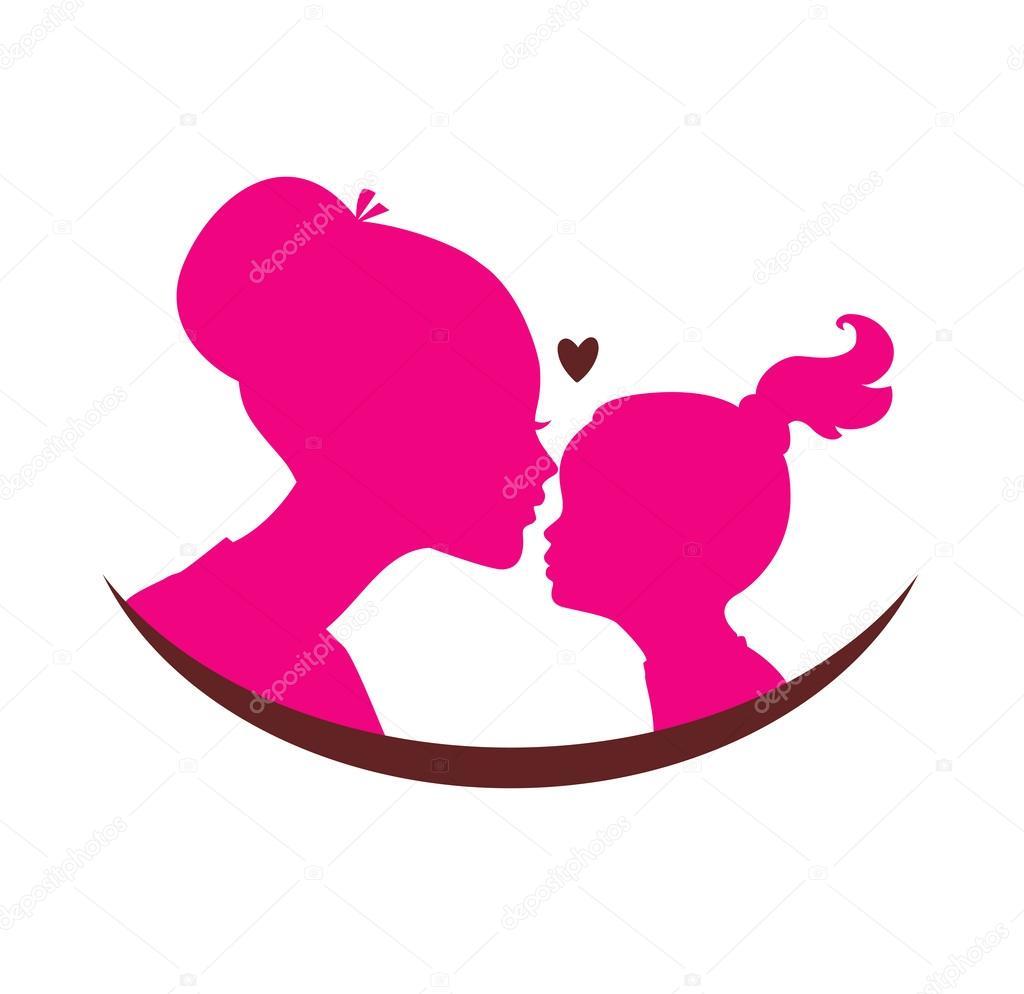 Amor De Madre E Hija Archivo Imágenes Vectoriales Sonneon 58241181