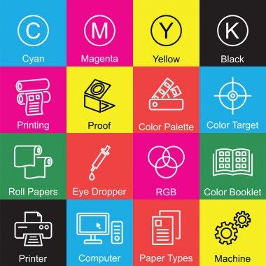 printing outline design