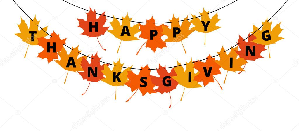 Delightful Thanksgiving Banner Part - 3: Thanksgiving Banner U2014 Stock Vector