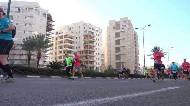 The Tel-Aviv marathon run