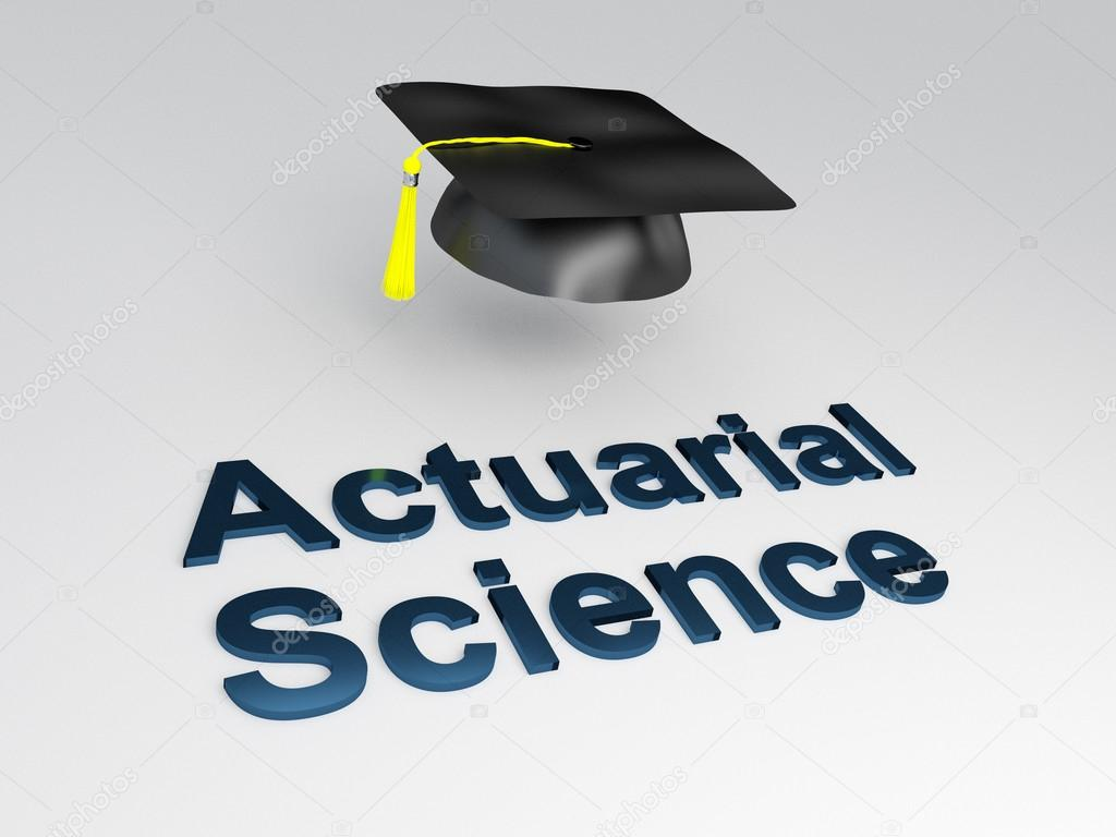Concepto de ciencia actuarial — Foto de stock © Premium_shots #102022532