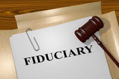 Fiduciary legal concept