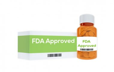 FAD Approved medication concept