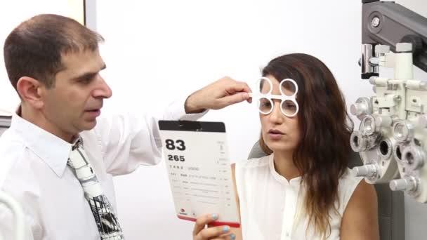 Redakční pevné plastové optometrie Flipper