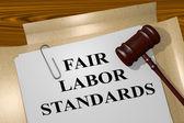 Fotografie Fair Labor Standards legal concept