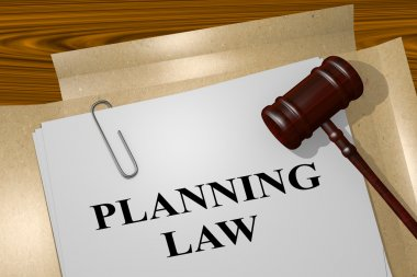 Planning Law legal concept