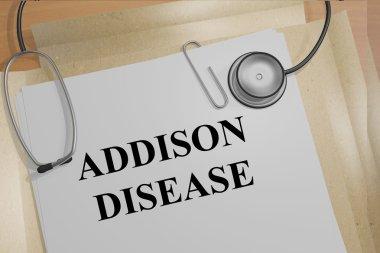 Addison Disease - medical concept