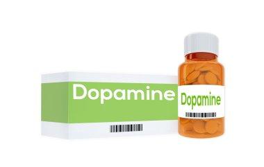 Dopamine - human mental concept