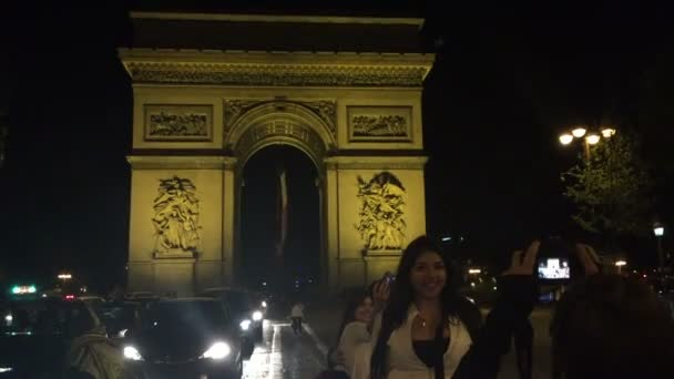 The Victory Gate in Paris