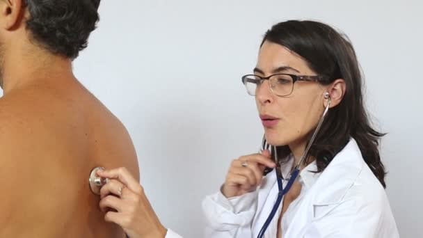 Medical checkup by female doctor