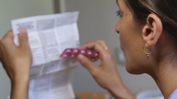 informazioni mediche di lettura della donna