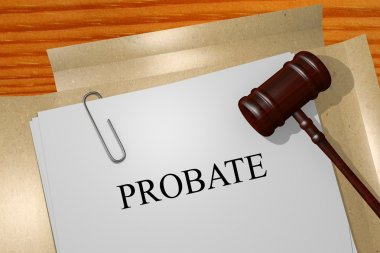 Probate business concept