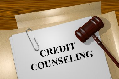Credit counseling concept