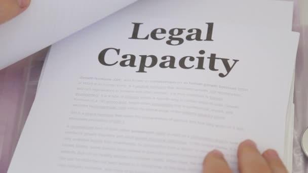 Orvos üzem jogi kapacitás peres iratok