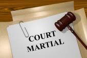 Fényképek Bíróság Martial koncepció