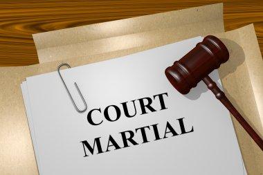 Court Martial concept