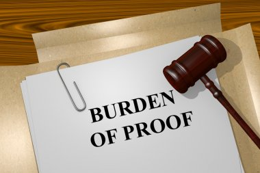 Burden of Proof Title On Legal Documents