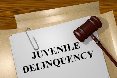 Juvenile Delinquency concept