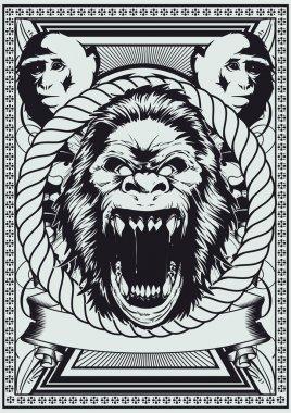 Royal monkey