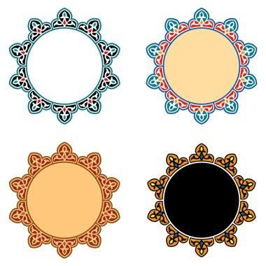 Vector Islamic Star Ornaments