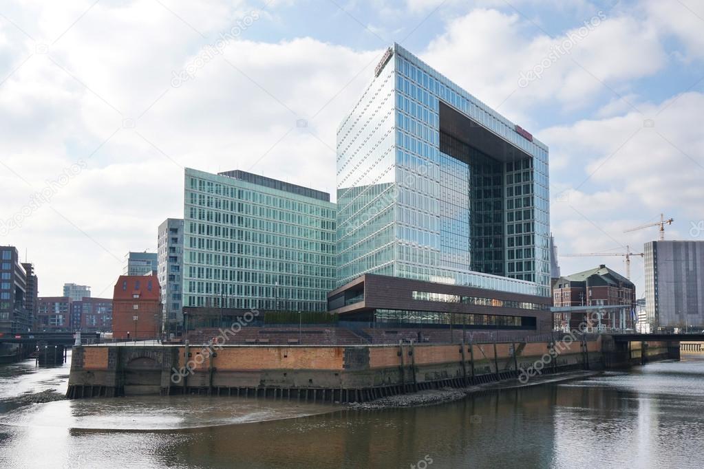 Der spiegel hoofdkantoor gebouw in hafencity hamburg for Der spiegel hamburg