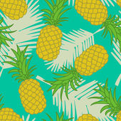 Fotografie Abstract seamless pineapple pattern