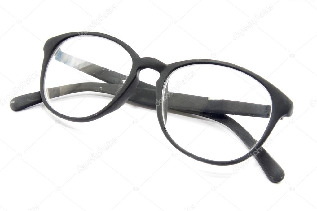 Eyeglasses On White Background Stock Photo C Theerapolll