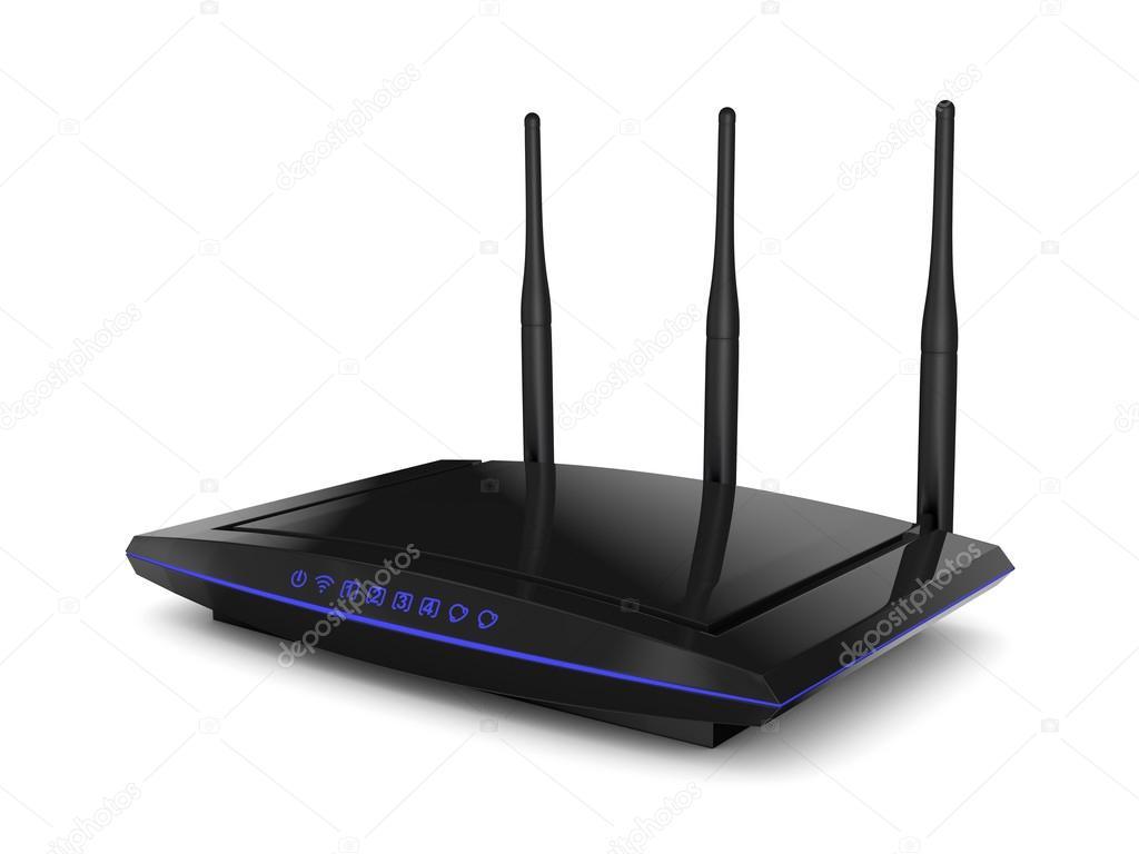 WLAN router — Stockfoto © rommma #57731501