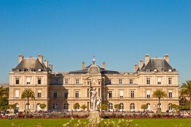 French Senat in Jardin du Luxembourg