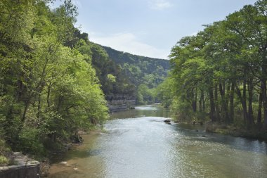 Guadalupe River in the Texas Hill Country during Spring