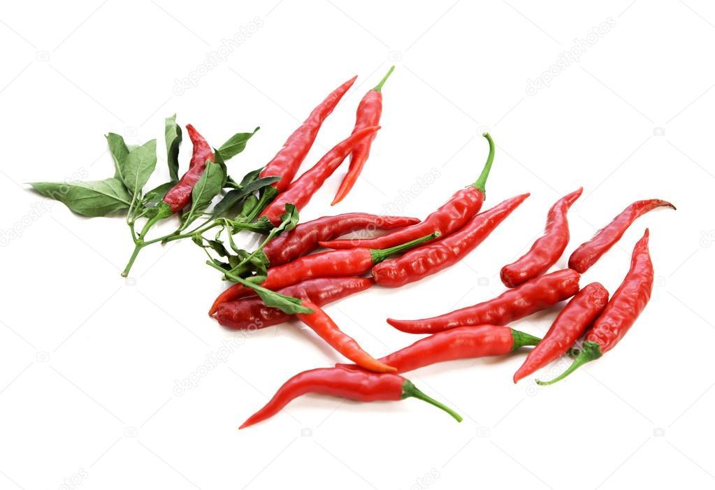 blanco, pimienta, rojo, chiles, Chile, capsaicina, closeup, chile ...