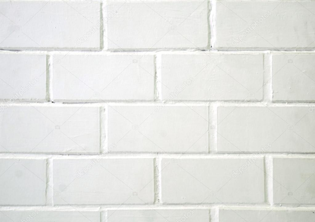 mattoni bianchi di ceramica mattonelle parete, sfondo — Foto Stock © mimiandnanaa #103144106