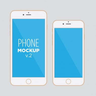 Smart phones similar to iphone in two sizes