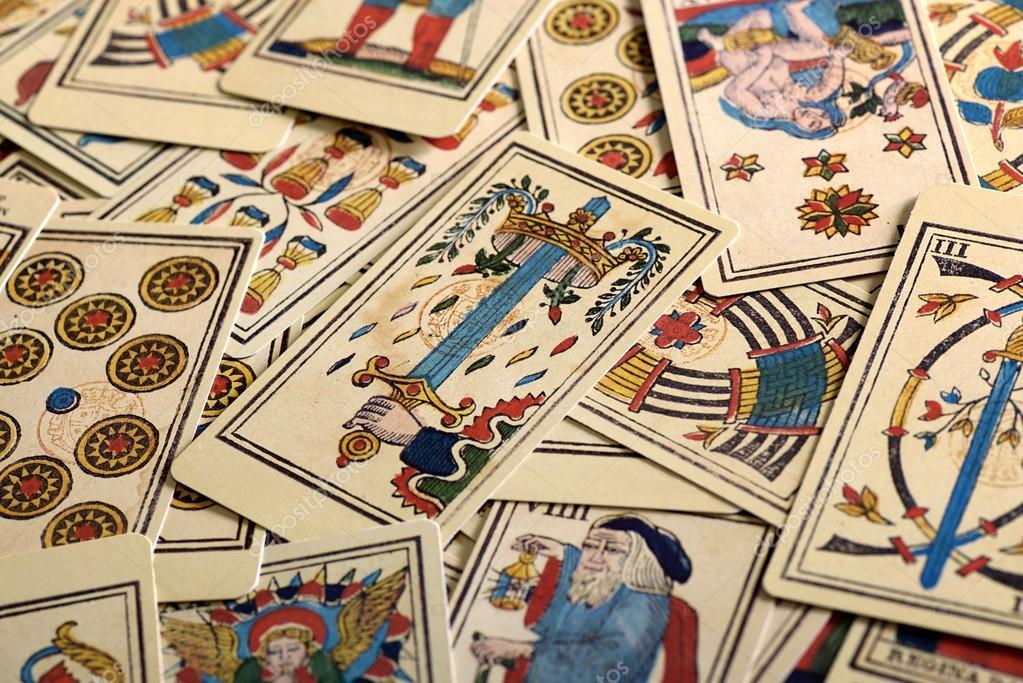 marco completo de cartas de tarot — Foto de stock © PHOTOLOGY1971 ...