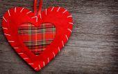 Valentin nap szív párna