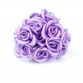 Fotografia bouquet di rose viola