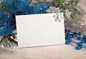 Vánoční dekorace s pohlednic
