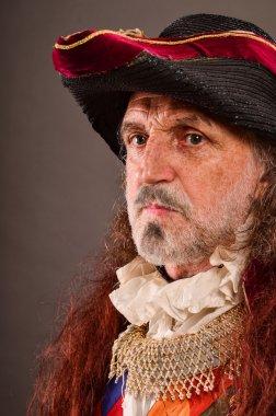 Old pirate's portrait