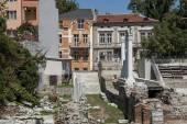 Starověké stadion vystavěno v Plovdivu, Bulharsko