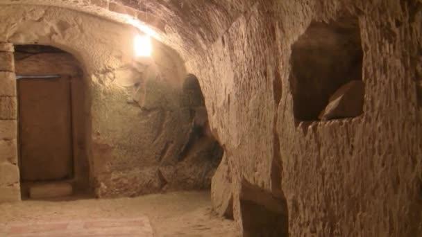 Belül Rabbi Yehuda Hanassi barlang