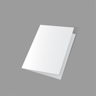 lying half-open blank
