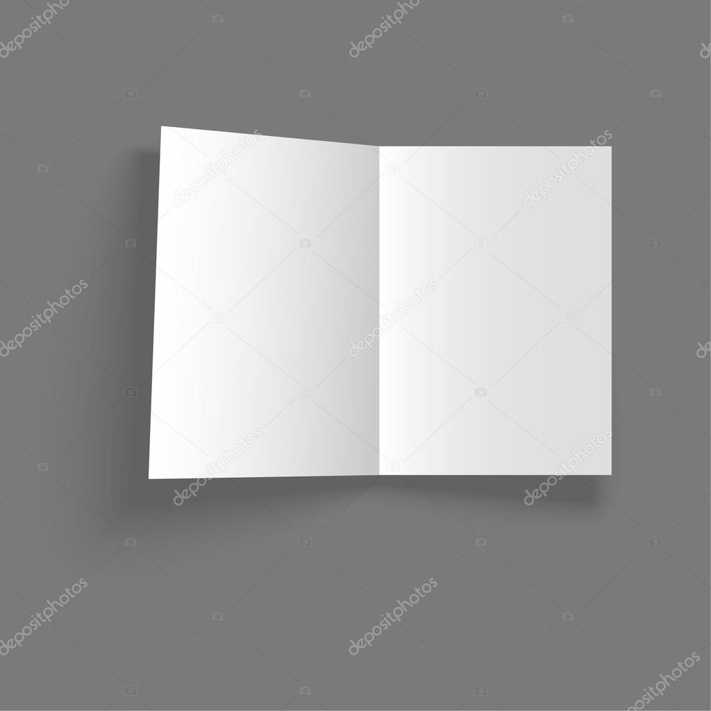 Leer leere Vorlage Magazin — Stockvektor © sumkinn #60740621