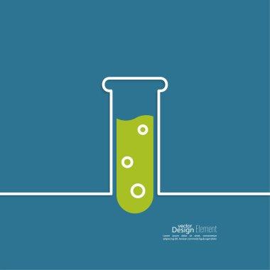 Test tube icon.