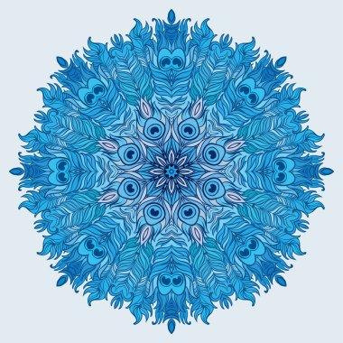 Vector Mandala. Vintage decorative element.