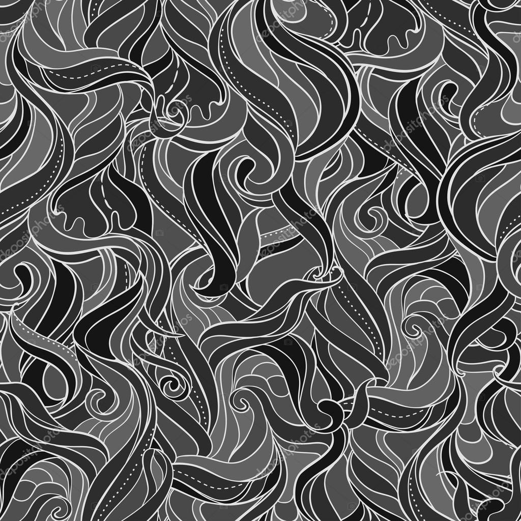 Vector Seamless pattern for wallpaper