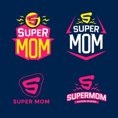 Super mom emblem
