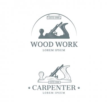 Woodwork label design