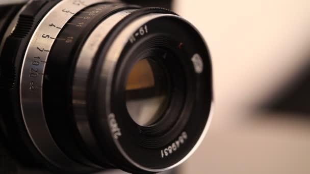 starý film fotoaparát